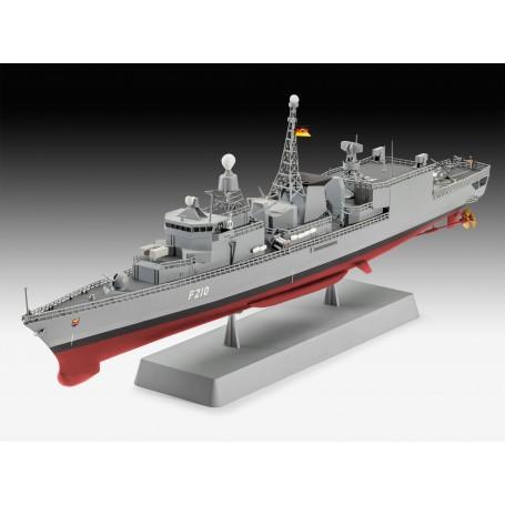 German Frégate classe F122 Un kit de construction de modèle d'un navire de la Marine rôle de combat multi allemand dont le rôle