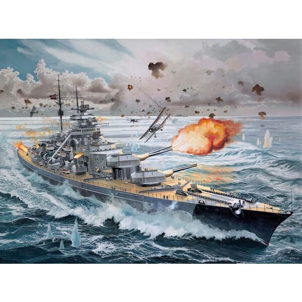 Bismark / Bismarck allemand Battleship Platinum Edition.Un kit de construction de modèle de la légendaire Bismark.A cette époq