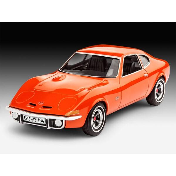 Opel GT Un facile à construire kit de construction de modèle de la légendaire et bien-aimé Opel GT qui était élémentairement dif