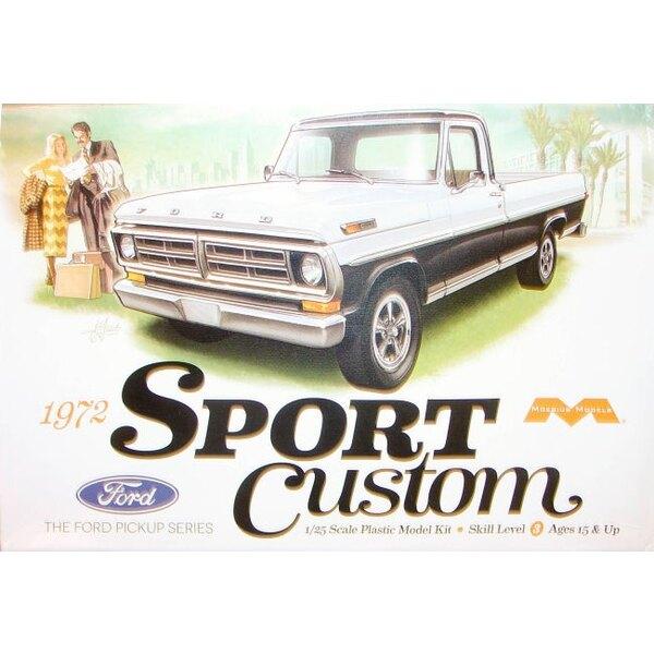 1972 Ramassage Ford Sport personnalisée