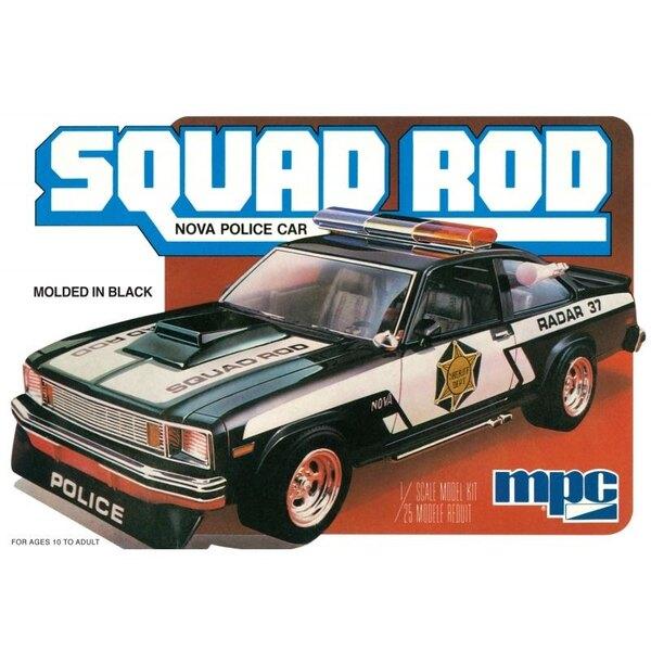 1979 Chevy Nova Squad Rod voiture de police