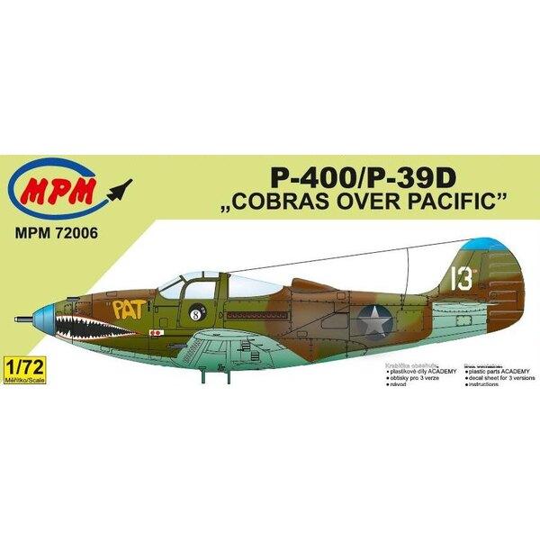 De Bell P-400 / P-39D Cobras sur le Pacifique