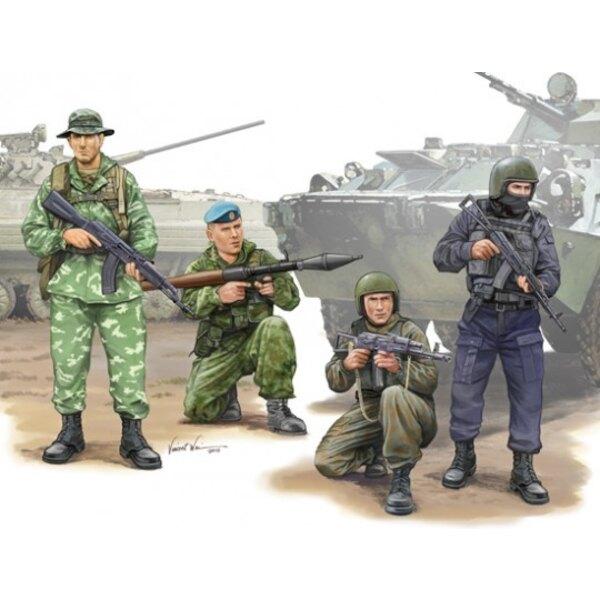 Russes figures spéciales Opération force4 X, 60 Pièces