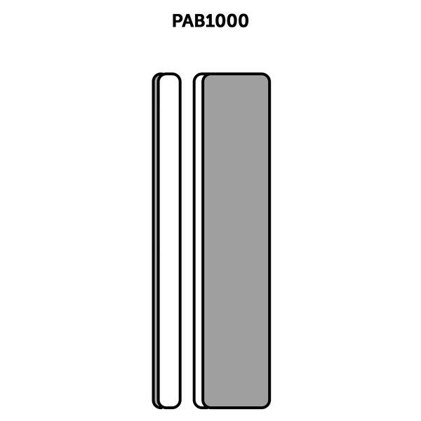 Extra Flexi Slim-Line Sanders x3 (90x19x6mm) Ces ensembles de ponçage sont lavables et réutilisables et offrent les combinaisons