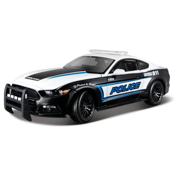 MAISTO 36203 FORD MUSTANG GT POLICE 2015 1/18