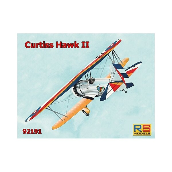 RS MODELS 92191 CURTISS HAWK II 1/72