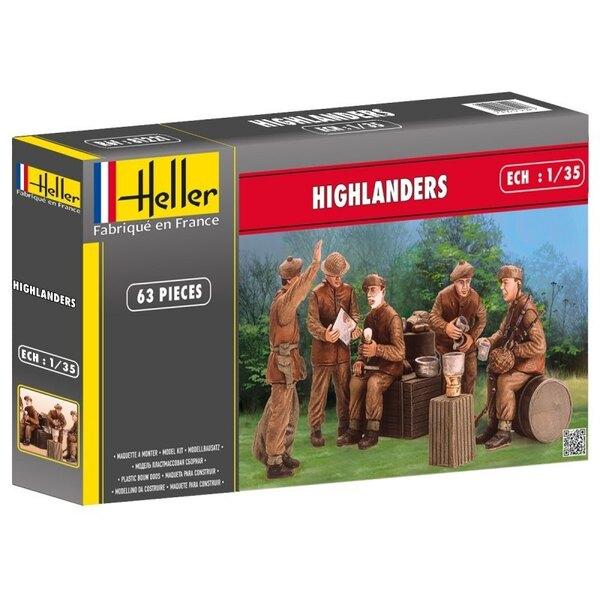 HELLER 81221 1/35 - HIGHLANDERS