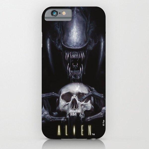 Alien coque iPhone 4 Skull