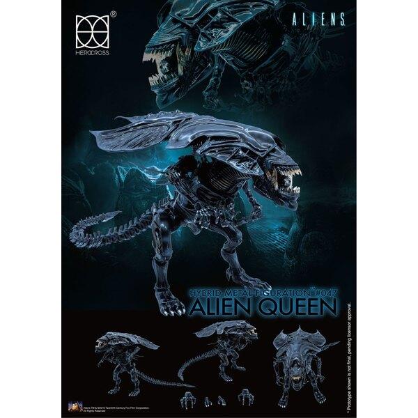 Aliens figurine Hybrid Metal Alien Queen 18 cm