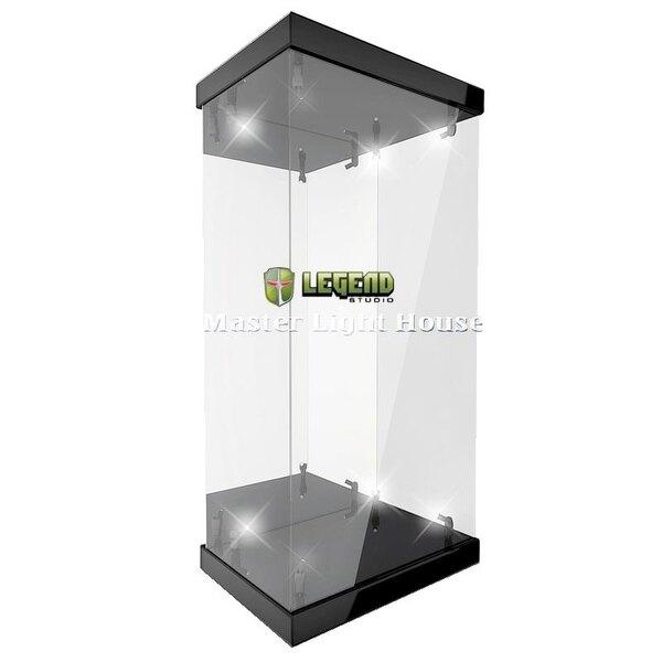 Master Revolving House présentoir vitrine acrylique avec éclairage pour figurines 1/8 et 1/9 (noir)