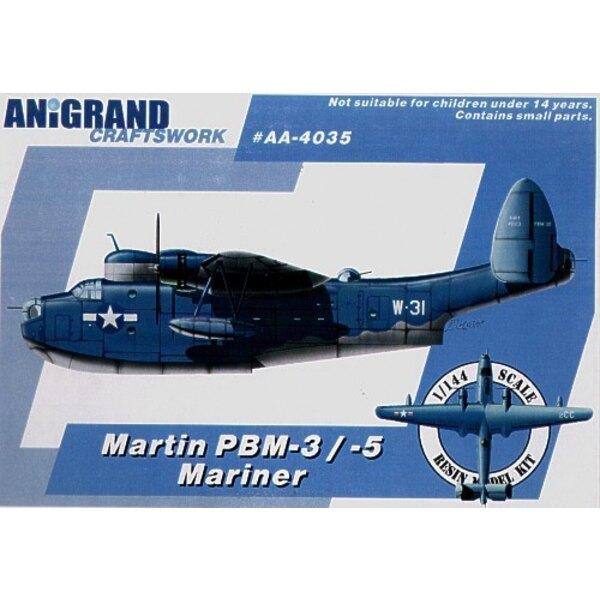 Martin PBM-3/5 Mariner. Inclut aussi maquettes en prime de Douglas XTB2D-1 Skypirate Curtiss SB2C-3 Helldiver et F7F Grumman-1 T