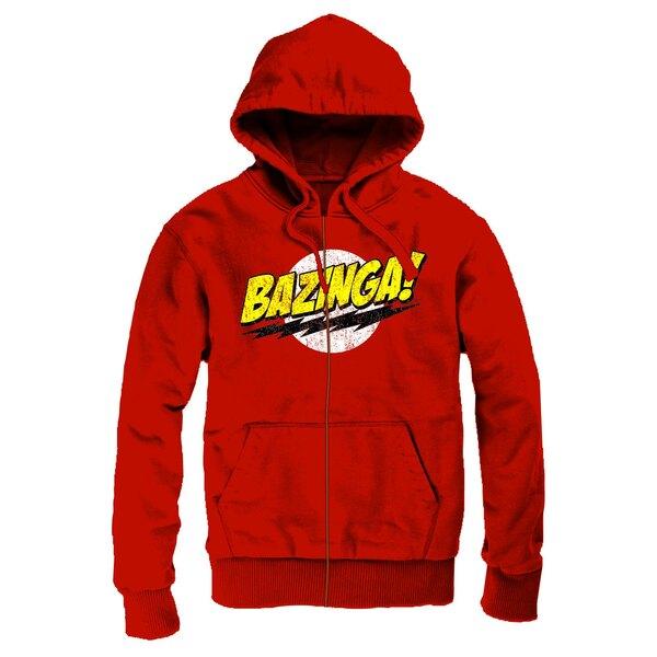 The Big Bang Theory Sweater à capuche zippé Logo