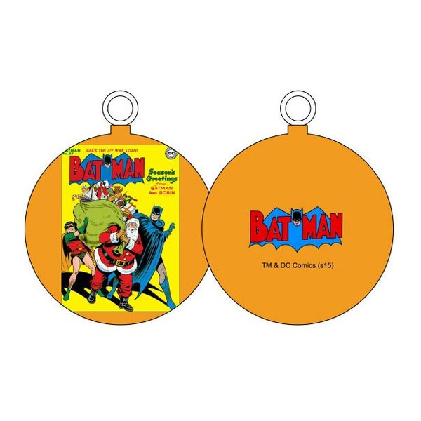 DC Comics décoration sapin Batman & Santa