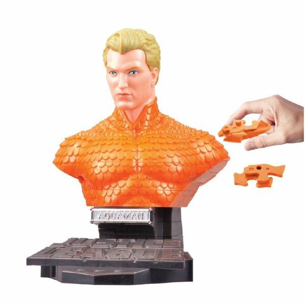 DC Universe puzzle 3D Aquaman Solid
