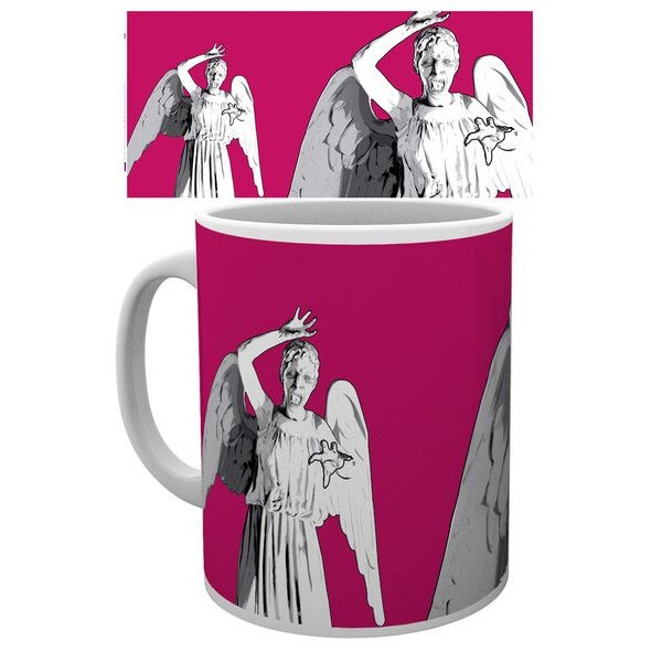 Doctor Who mug Angel Pop