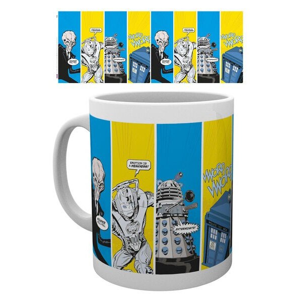 Doctor Who mug Space Cadets
