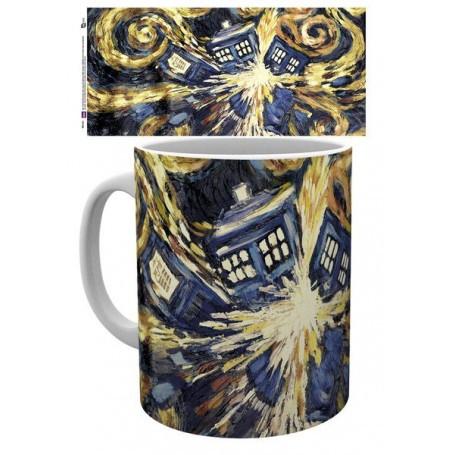 Doctor Who mug Exploding Tardis