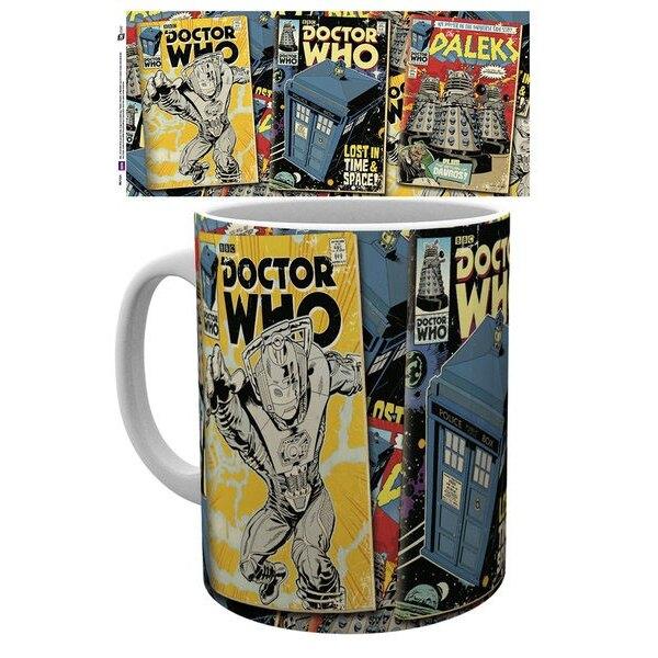 Doctor Who mug Comics