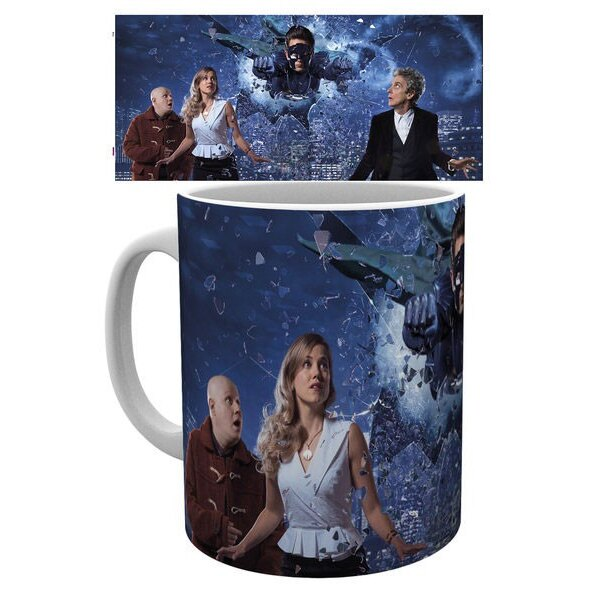 Doctor Who mug Xmas Iconic 2016