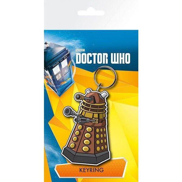 Doctor Who porte-clés caoutchouc Dalek 7 cm