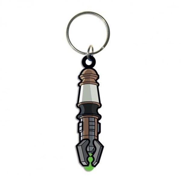 Doctor Who porte-clés caoutchouc Sonic Screwdriver 6 cm