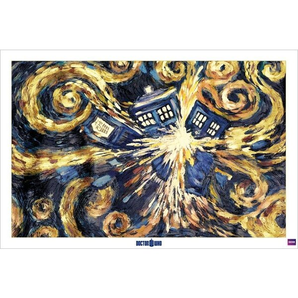 Doctor Who pack posters Exploding Tardis 61 x 91 cm (5)