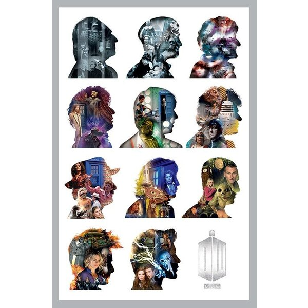 Doctor Who pack posters Silhouette 61 x 91 cm (5)