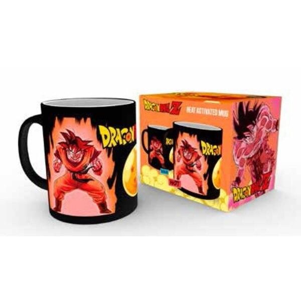 Dragonball Z mug décor thermique Super Saiyan