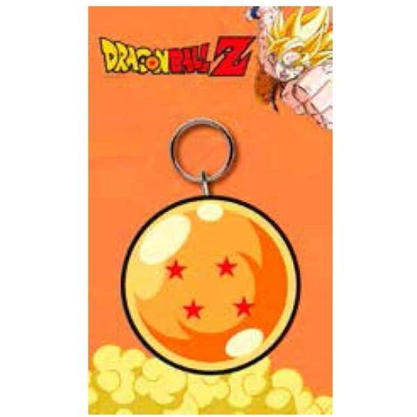 Dragonball Z porte-clés caoutchouc Dragon Ball 7 cm