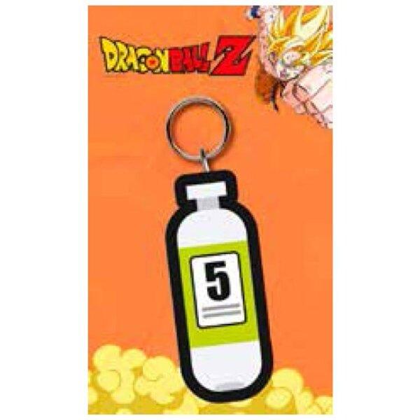 Dragonball Z porte-clés caoutchouc Capsule 7 cm