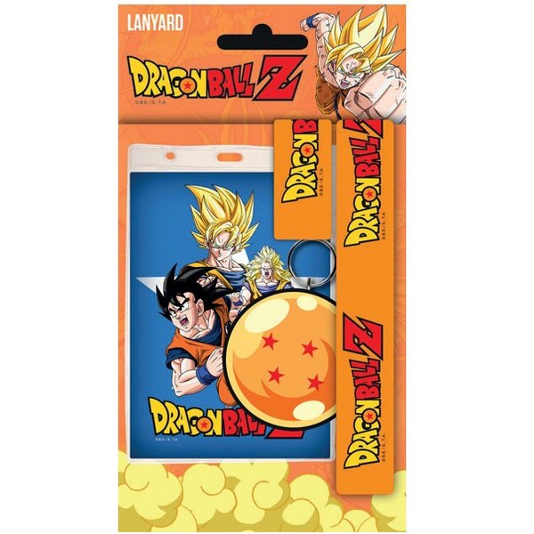 Dragonball Z dragonne avec porte-clés caoutchouc Goku