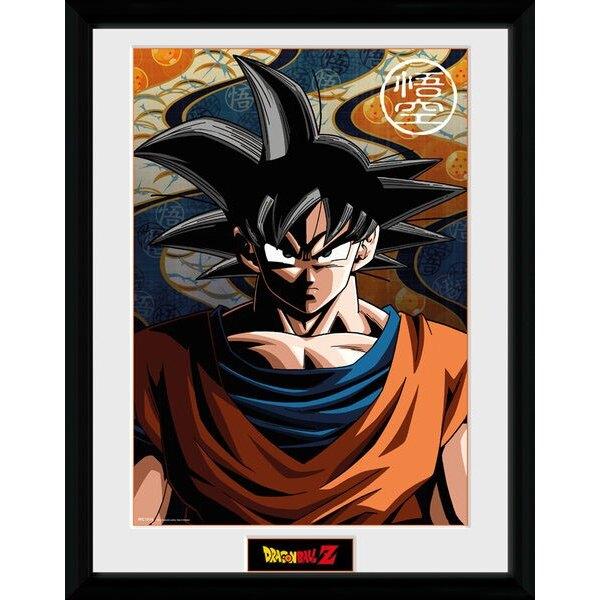 Dragonball Z poster encadré Son Goku 45 x 34 cm
