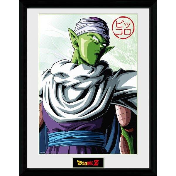 Dragonball Z poster encadré Piccolo 45 x 34 cm