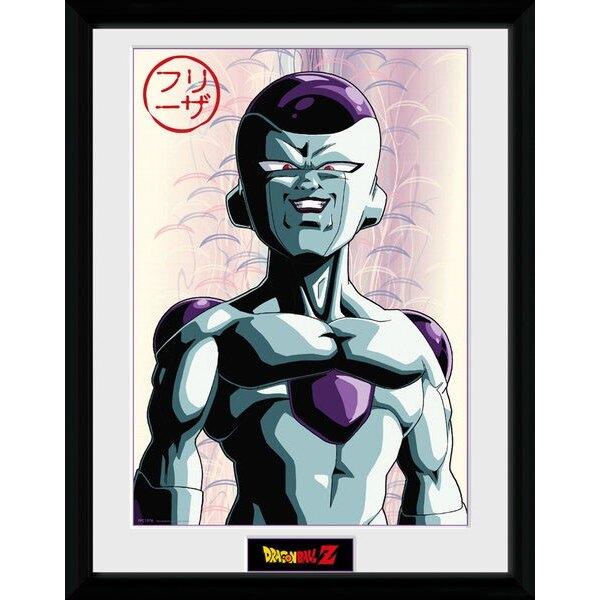 Dragonball Z poster encadré Frieza 45 x 34 cm