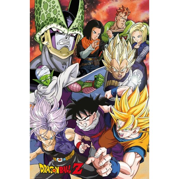 Dragonball Z pack posters Cell Saga 61 x 91 cm (5)