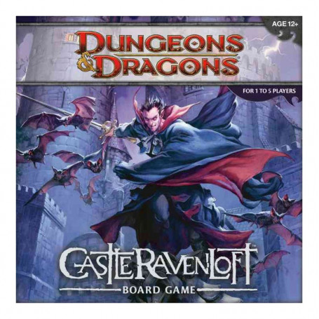 Dungeons Dragons jeu de plateau Castle Ravenloft *ANGLAIS* Wizards of the Coast WOTC207790000