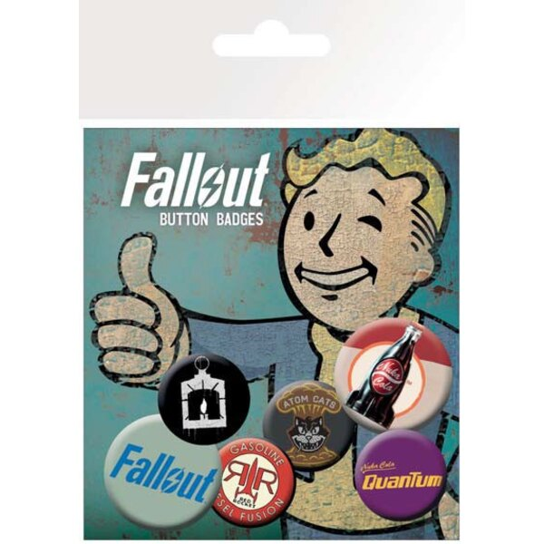 Fallout pack 6 badges Mix 2