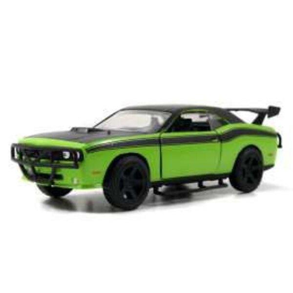 Fast & Furious 7 1/32 2008 Dodge Challenger Green métal