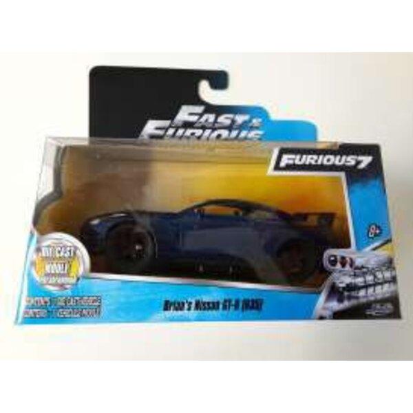 Fast & Furious 7 1/32 Brians Nissan GT-R R35 métal