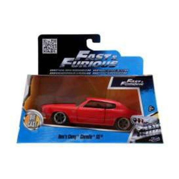 Fast & Furious 1/32 1970 Chevrolet Chevelle *rouge* métal