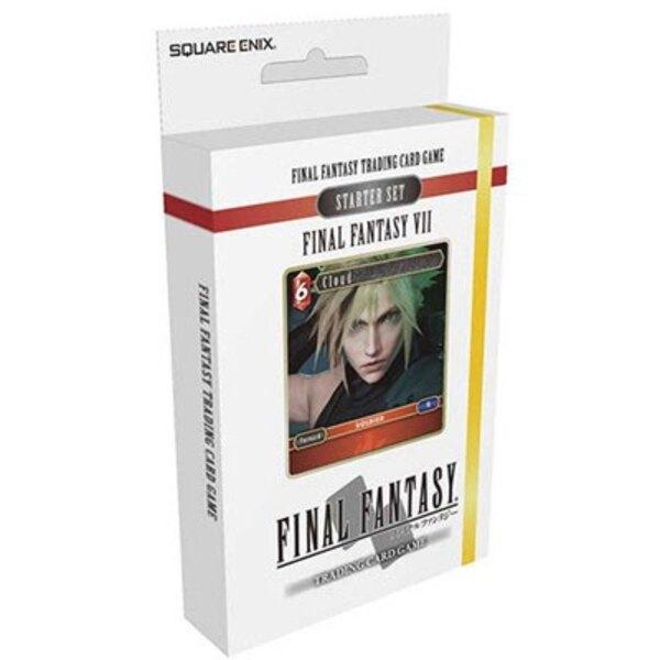 Final Fantasy VII présentoir starter decks TCG (6) *ANGLAIS*