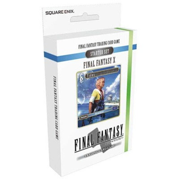 Final Fantasy X présentoir starter decks TCG (6) *ANGLAIS*