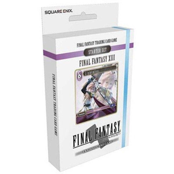 Final Fantasy XIII présentoir starter decks TCG (6) *ANGLAIS*