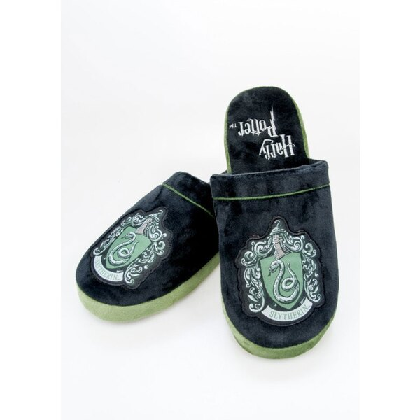 Harry Potter chaussons Slytherin