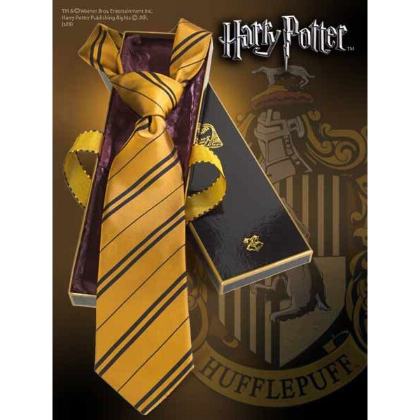Harry Potter cravate Poutsouffle