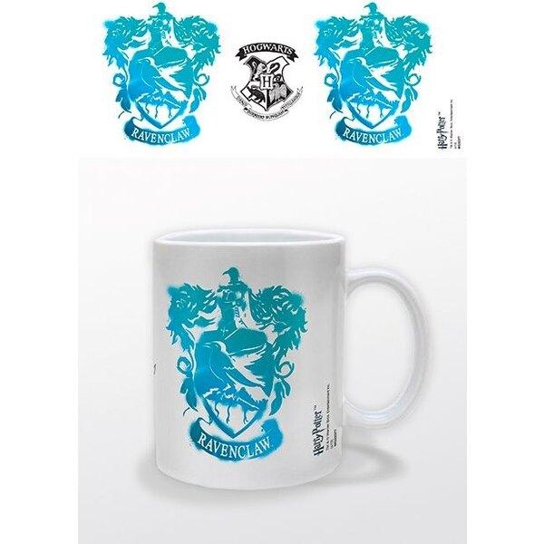 Harry Potter mug Ravenclaw Stencil Crest