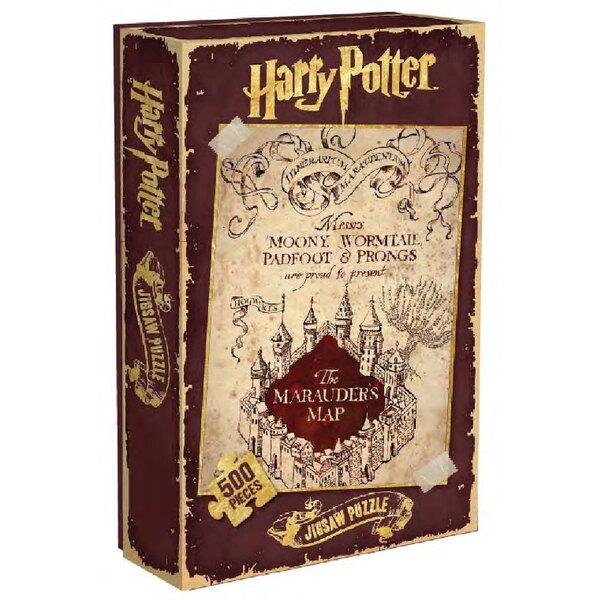 Puzzle Harry Potter Puzzle carte du Marauder