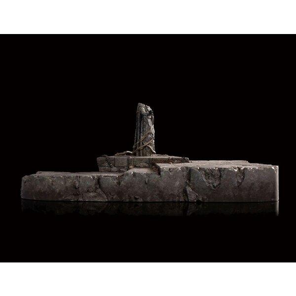 Le Hobbit La Bataille des Cinq Armées mini Diorama Dol Guldur 1/30 The Palantír Courtyard 32 x 24 cm