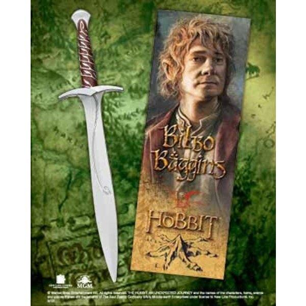 Le Hobbit Un voyage inattendu set stylo à bille et marque-page à effet 3D épée de Bilbon Sacquet
