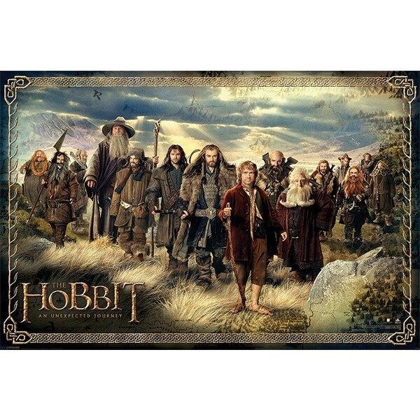 Le Hobbit Un voyage inattendu pack posters The Company 61 x 91 cm (5)